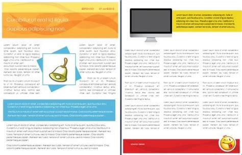 school templates school newsletter template freshman