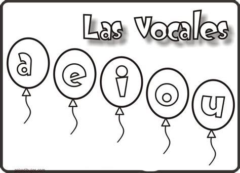 imagenes para pintar musica dibujos de las vocales para colorear