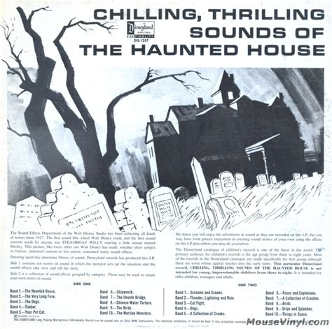 chilling thrilling sounds of the haunted house google images