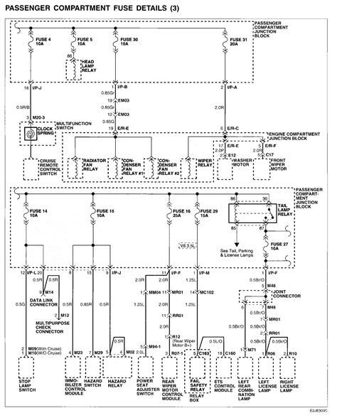 santa fe hyundai 2004 door wiring diagram get free image