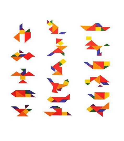 tangram cuadrado tangram cuadrado crear figuras puzzle