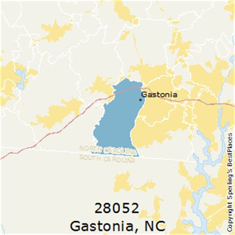 zip code map gastonia nc best places to live in gastonia zip 28052 north carolina