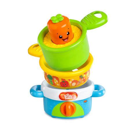 Bright Starts Giggling Gourmet Stack And Giggle Pots upc 074451521278 bright starts giggling gourmet nest
