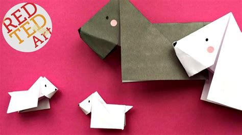 Origami Scottie - easy origami scottie scottish terrier easy