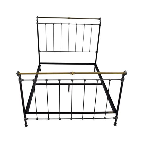 charles p rogers iron bed 49 off ikea ikea brimnes full bed frame beds