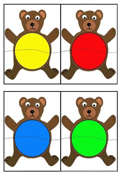 Kitchen Bulletin Board Ideas Matching Activities For Autismcolour Day Activities For