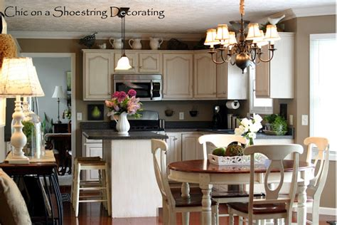 Country Kitchen Decorating Ideas On A Budget Chic On A Shoestring Decorating 31 Days Of Decorating On