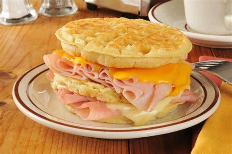 ham and turkey club sandwich recipe creative recipe turkey ham cheese waffle club sandwich