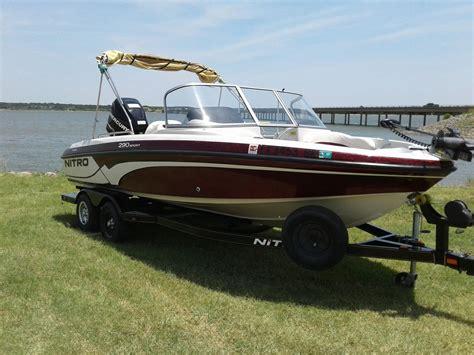 used nitro boats for sale used nitro ski and fish boats for sale boats