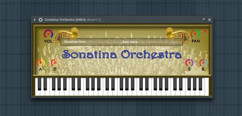 Vst The Orchestra free orchestral vst instrument sonatina orchestra module by bigcat
