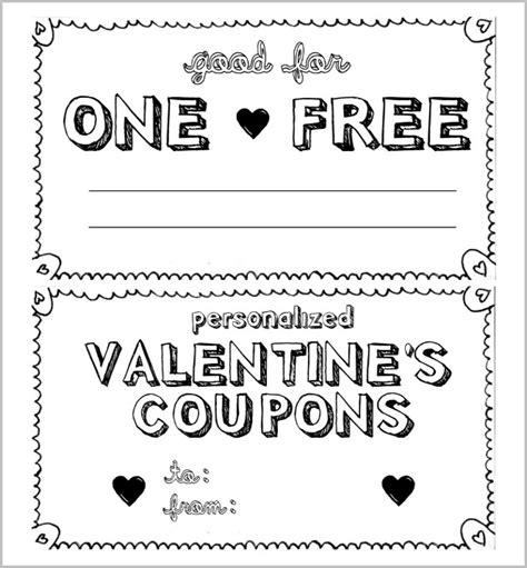 28 Homemade Coupon Templates Free Sle Exle Format Download Free Premium Templates Coupon Template Pdf
