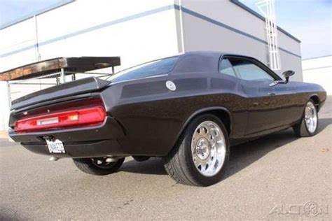 dodge viper 1970 this 1970 dodge challenger has a ginormous viper engine