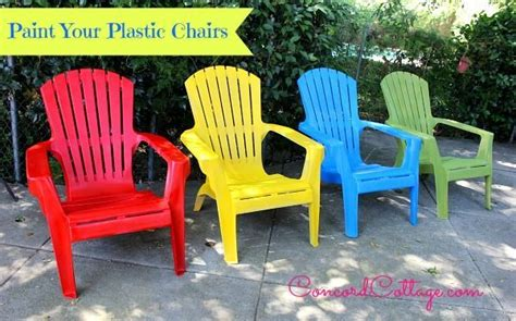 Paint For Outdoor Plastic Furniture by Paint Your Plastic Chairs Hometalk