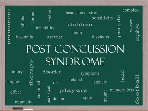 post concussion symptoms and treatment