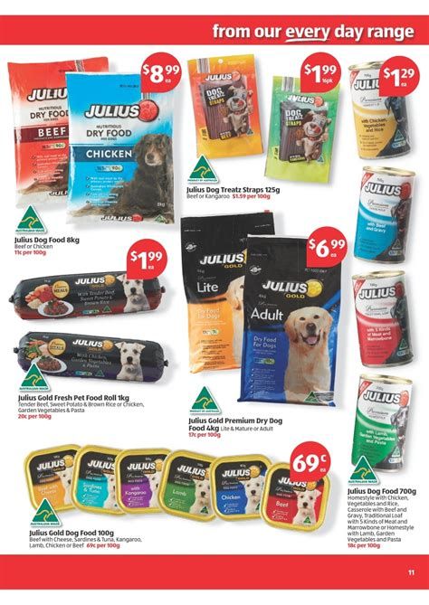 5 week puppy food aldi catalogue special buys week 44 2013 page 11