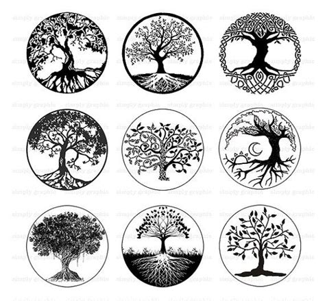circle of life tattoo 25 best tree of tattoos ideas on