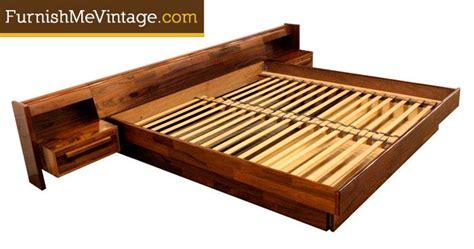 stunning king platform bedroom sets cagedesigngroup vintage belgian rosewood king size platform bed on
