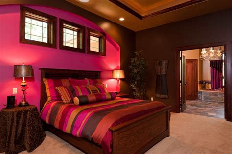 red and purple bedroom pictures of master bedroom and bathroom designs slideshow