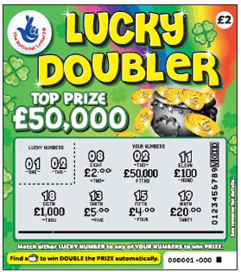 National Lottery Instant Wins Odds - lotto results 187 national lottery lucky doubler scratch card
