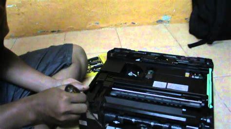 reset brother j200 cara bongkar mengganti ink absorber dan sensor kertas