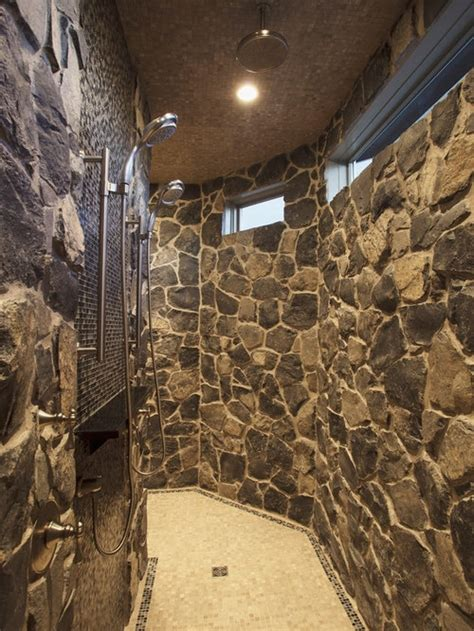walk  shower home design ideas pictures remodel