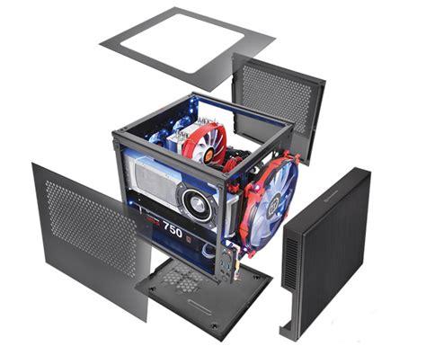 Segotep Mini Tt Cube Black White Side Window Usb 3 0 thermaltake global suppressor f1