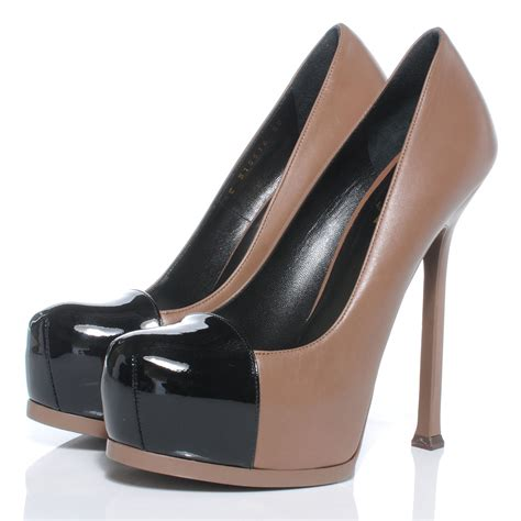 Yves Laurent Patent Tribtoo Pumps Review by Ysl Yves Laurent Leather Patent Leather Tribtoo