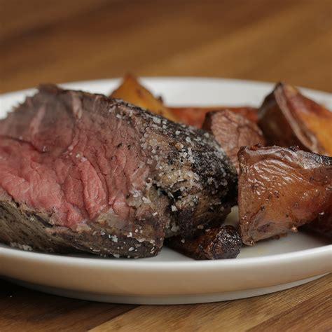 salt crusted beef tenderloin recipe by tasty