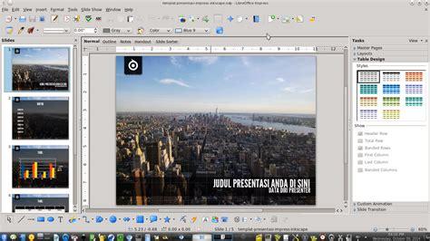 template slides libreoffice libreoffice impress presentation template by ademalsasa on