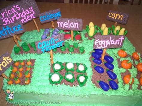 25 best ideas about vegetable garden cake on
