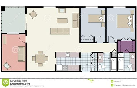 furniture for floor plans simple floor plan with furniture decobizz com