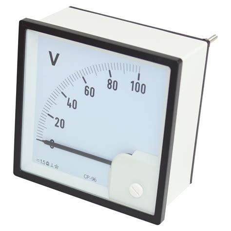 Panel Meter 0 150 Millivolt Dc Voltmeter Analog Panel Meter