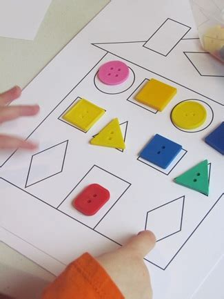 creative pattern games gingerbread shapes and paper houses for preschool