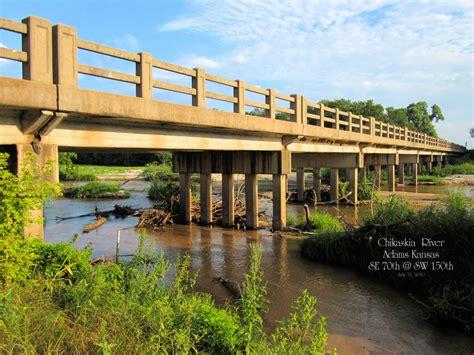 Home Design Kansas City Bridgehunter Com Chikaskia River Bridge