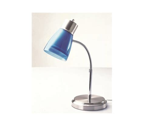 Bright Blue Desk Lamp Keep Dorm Bright Gooseneck College Desk Lamp Blue