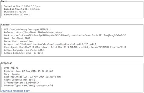 django openid tutorial django wiretap 0 1 2 python package index