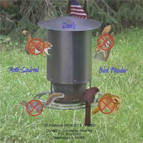 get don s anti squirrel birdfeeder at donsbirdfeeder com