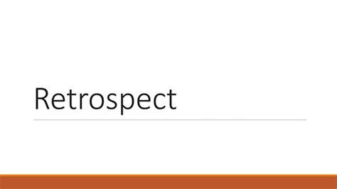 Retrospect Theme Powerpoint Free Download | powerpoint