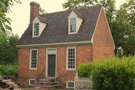 Historic Colonial Floor Plans by Homes Of Colonial Williamsburg Va One Hundred Dollars A