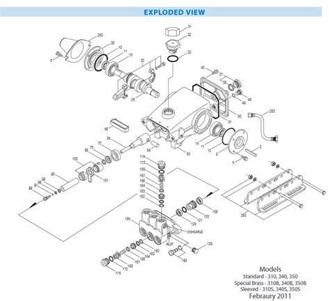 cat pumps parts diagrams 30821 valve kit from cat pumps ets company pressure