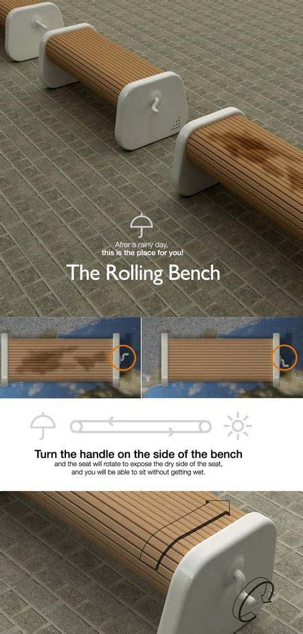 the rolling bench the rolling bench smart things pinterest