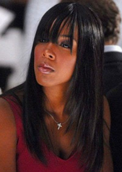 weaves with bangs for black women 184 best images about black weave hairstyles long silky