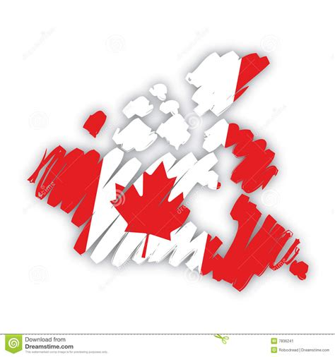 canada map vector free vector map flag canada stock vector image of represent