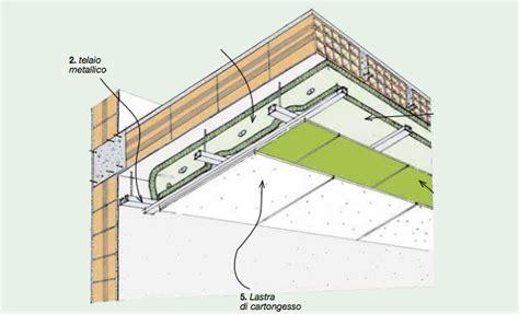 controsoffitto isolamento termico sistemi di isolamento termico per soffitto idee green