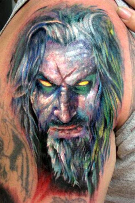 rob zombie tattoos 79 horror tattoos for arm