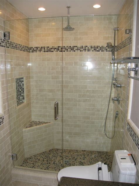 Modern Subway Tile Bathroom Designs Subway Tile Shower Contemporary Bathroom San Diego