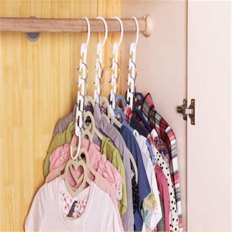 Closet Hangers Space Savers by Easy To Use Space Saver Hanger Magic Clothes Hanger With