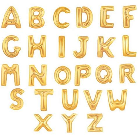 Letter Balloons Buy Wholesale Gold Letter Balloons From China Gold