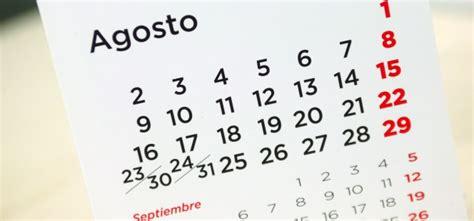 Calendario X Mes 2016 Calendario Laboral 2016 Festivos Y Fechas Destacadas