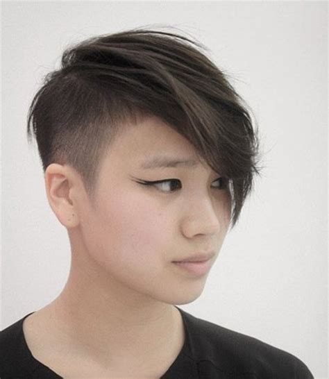 cutting your own pixie cut with long bangs messy pixie cut with nice undercut sides hair